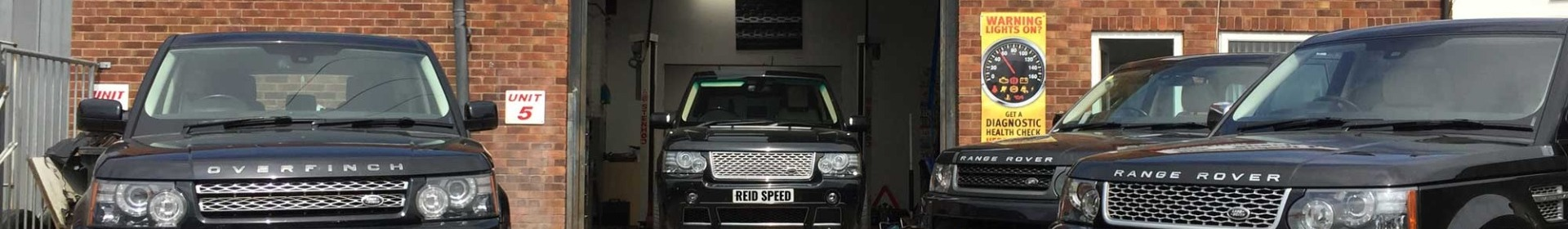 Reid Speed Land Rover Specialists Leicestershire