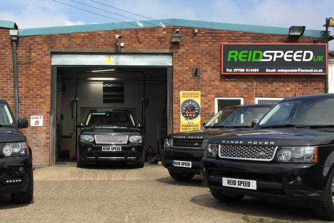 Reid Speed UK Land Rover Specialists