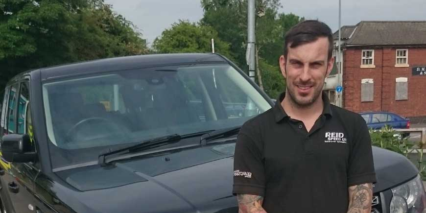 Andy Reid - Reid Speed Land Rover specialists Leicestershire